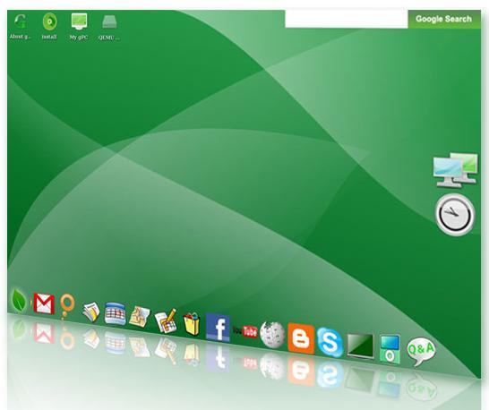 gOS Sistema Operativo Google
