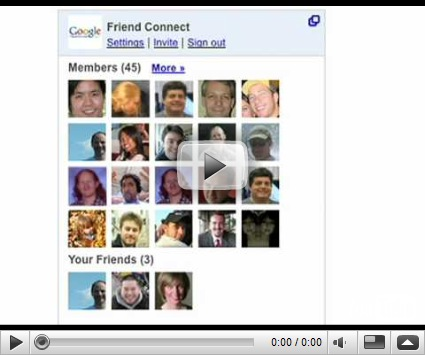 Google Friend Connect | Socializando pqpq.es ceslava 1