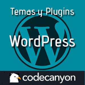 temas y plugins para wordpress codecanyon